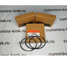 Кольца поршневые Cummins ISF3.8 +0.50 (комплект на 4 поршня) № 3943447, 3959079, 3932520